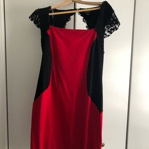 Nicole Red Dress